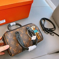 Louis Vuitton fashion doll embroidered pillow bag handbag with one shoulder crossbody bag
