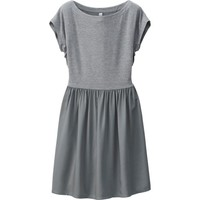 WOMEN JERSEY FLARED SHORT SLEEVE DRESS | UNIQLO