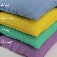 Soft Bed Linen Pillow Cases ( set of 2 pcs)