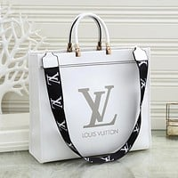 Louis Vuitton LV explosive letter print personality large-capacity single shoulder bag