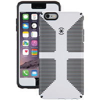 SPECK 71261-1909 iPhone(R) 6 Plus/6s Plus CandyShell(R) Grip Case + Faceplate (White/Black)
