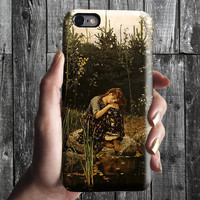 Sister Alenushka - Vasnetsov iPhone Case 6, 6S, 6 Plus, 4S, 5S. Mobile Phone Cell. Art Painting. Gift Idea. Anniversary. Gift for him/her