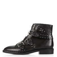 AMY Studded Ankle Boots