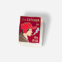 Book Badge enamel pin: The Catcher in the Rye