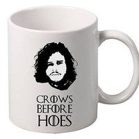 Crows Before Hoes Game of thrones Mug
