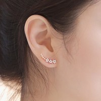 Korean Silver Earrings [10427402132]