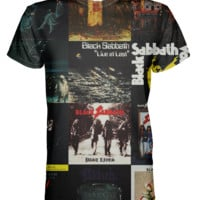 Black Sabbath All Over Print T-shirt