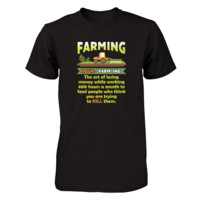 Funny Farming Definition T-shirt