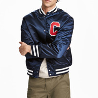 H&M Nylon Baseball Jacket $59.99