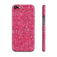 Barbie Pink Glitter Sparkles - Premium Slim Fit Iphone 5 Case