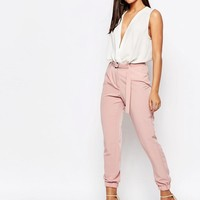 Missguided   Missguided Tailored Joggers at ASOS