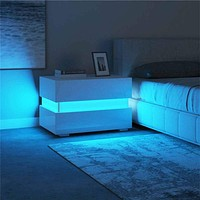 Modern Edition of Luxurious LED Night Stand