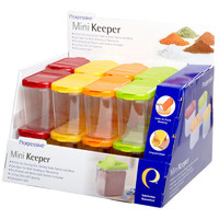 Progressive International Single Mini Food Keeper Counter Display (Set of 16)