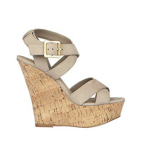 Steve Madden - WISHES TAUPE NUBUCK