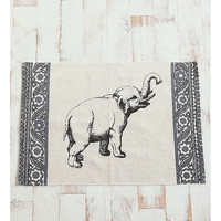 Elephant Rug - Urban Outfitters