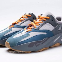 HCXX 19Sep 768 Adidas Yeezy Boost 700 Teal Blue Casual Sneaker Fashion Low Running Shoes