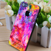 Colorfull Oil Painting iphone case, smartphone