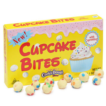 Cupcake Bites Candy Theater Size Packs: 12-Piece Box