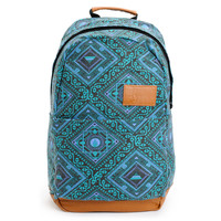 Volcom Girls Going Back Green Tribal Print Laptop Backpack at Zumiez : PDP