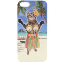 With Love From CA Aloha Cat Hula iPhone 5/5S Case at PacSun.com