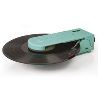 Revolution Portable USB Turntable in Turquoise design by Crosley