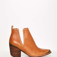 Jeffrey Campbell Cromwell Leather Bootie - Tan