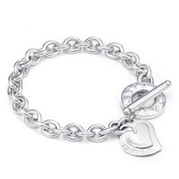 TIFFANY Women Fashion Chain Bracelet Jewelry-5