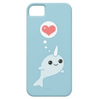 Kawaii Narwhal Iphone 5 Cases from Zazzle.com