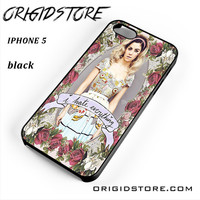 Marina And The Diamonds I Hate Everything For Iphone 5 Iphone 5S Case YG