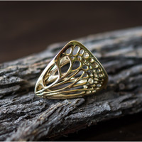 Butterfly Ring [ Size 5 ]
