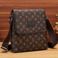 LV Men Office Bag Leather Satchel Shoulder Bag Crossbody Tagre™