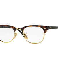 Look who's looking at this new Ray-Ban Clubmaster Optics