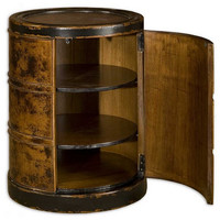 Uttermost Lawton Storage Drum Table - 25522