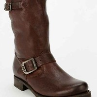 Frye Veronica Mid-Rise Slouch Boot- Chocolate