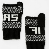 As If Fingerless Glove - Urban Outfitters