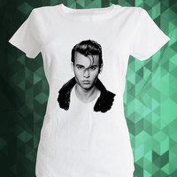 Johnny Depp cry baby,Johnny Depp kid,Movie Star Shirt,johnny depp style,Printed Shirt for Men,fashion tee,movie actor,movie shirt,star,best