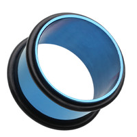 Colorline No Flare Ear Gauge Tunnel Plug