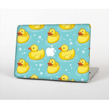 """The Cute Rubber Duckees Skin Set for the Apple MacBook Air 11"""""""