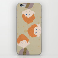 the triplets iPhone & iPod Skin by Studiomarshallarts