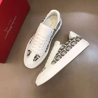 Ferragamo  Man popular Casual Shoes Men popular Boots popularable Casual leather Breathable Sneakers Running Shoes Sneakers