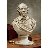 Park Avenue Collection William Shakespeare Bust