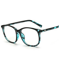 Fashion Retro Glasses With Clear Glass Brand Optical Spectacle Glasses Frames Clear Lens Eyeglasses Frame Eyewear For Women Men