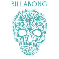 Billabong Dia De Los Vivos Sticker Turquoise One Size For Women 24679624101