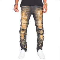 The Golden Denim The Dorado Jeans A.U. In Black