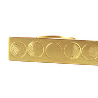 Moon Phase Ring, Brass