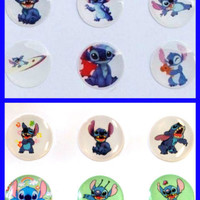 12x Stitch Bubble Home Button Stickers for iPhone iPad iPod (2Packs) iPhone6 5 4