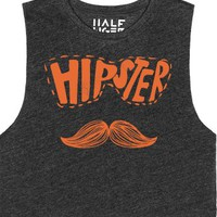 Hipster-Female Heather Onyx T-Shirt