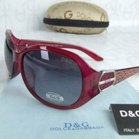 New Large DG Eyewear Womens Fashion Designer Sunglasses Eyewear UV Protection
