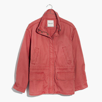 Prospect Jacket in Spiced Rose :   Madewell