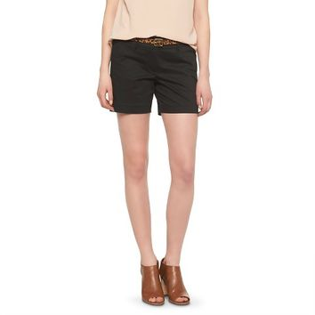 Mid-Rise Sateen Short - Mossimo